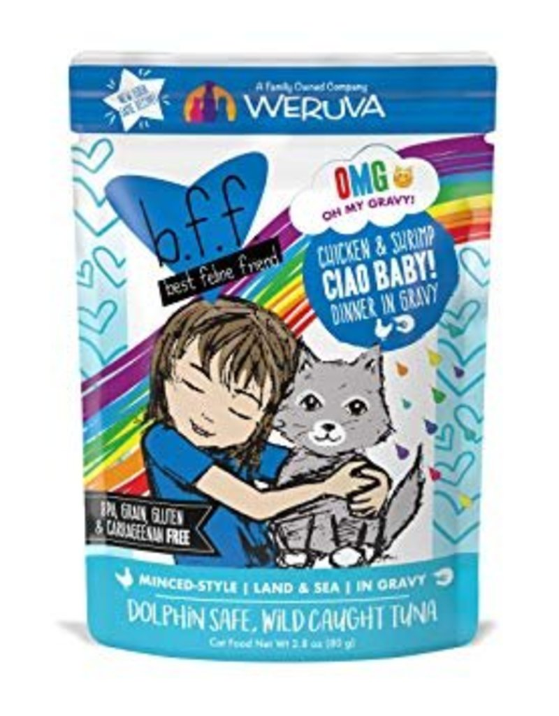 Weruva BFF OMG Ciao Baby Cat Food Pouch,  2.8 oz.