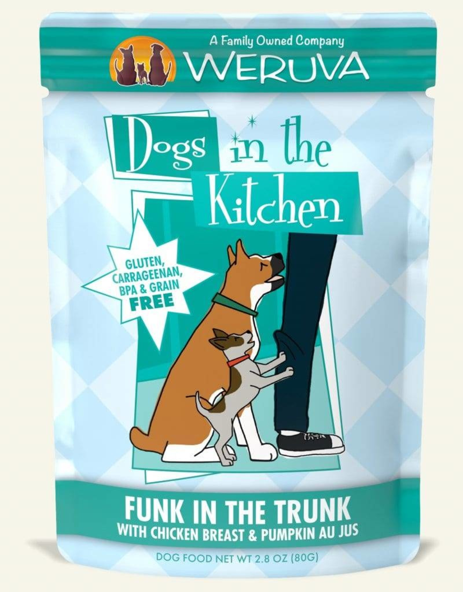 Weruva DITK Funk In The Trunk Dog Food Pouch, 2.8 oz.