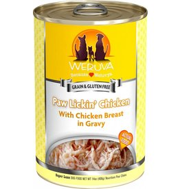 Weruva Paw Lickin Chicken Dog Food Can, 14 oz.