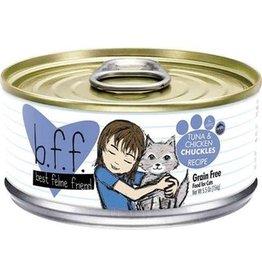 Weruva BFF Tuna & Chicken Chuckles Cat Food Can, 5.5 oz.