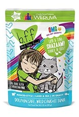 Weruva BFF OMG Lamb & Tuna Shazaam Cat Food Pouch,  2.8 oz.