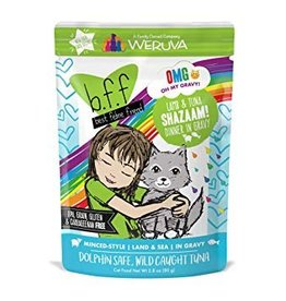 Weruva BFF OMG Lamb & Tuna Shazaam Cat Food Pouch,  2.8 oz.