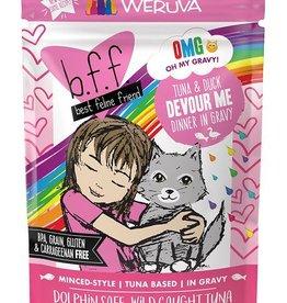 Weruva BFF Tuna & Duck Devour Me Cat Food Pouch, 3 oz.