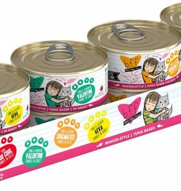 Weruva BFF Batch 'O Besties Cat Food Can Variety Pack, 8 pack