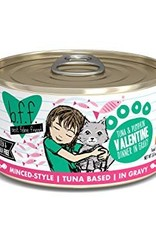Weruva BFF Tuna & Pumpkin Valentine Cat Food Can, 5.5 oz.