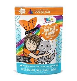 Weruva BFF OMG Purr-fect Plannin Cat Food Pouch, 2.8 oz.
