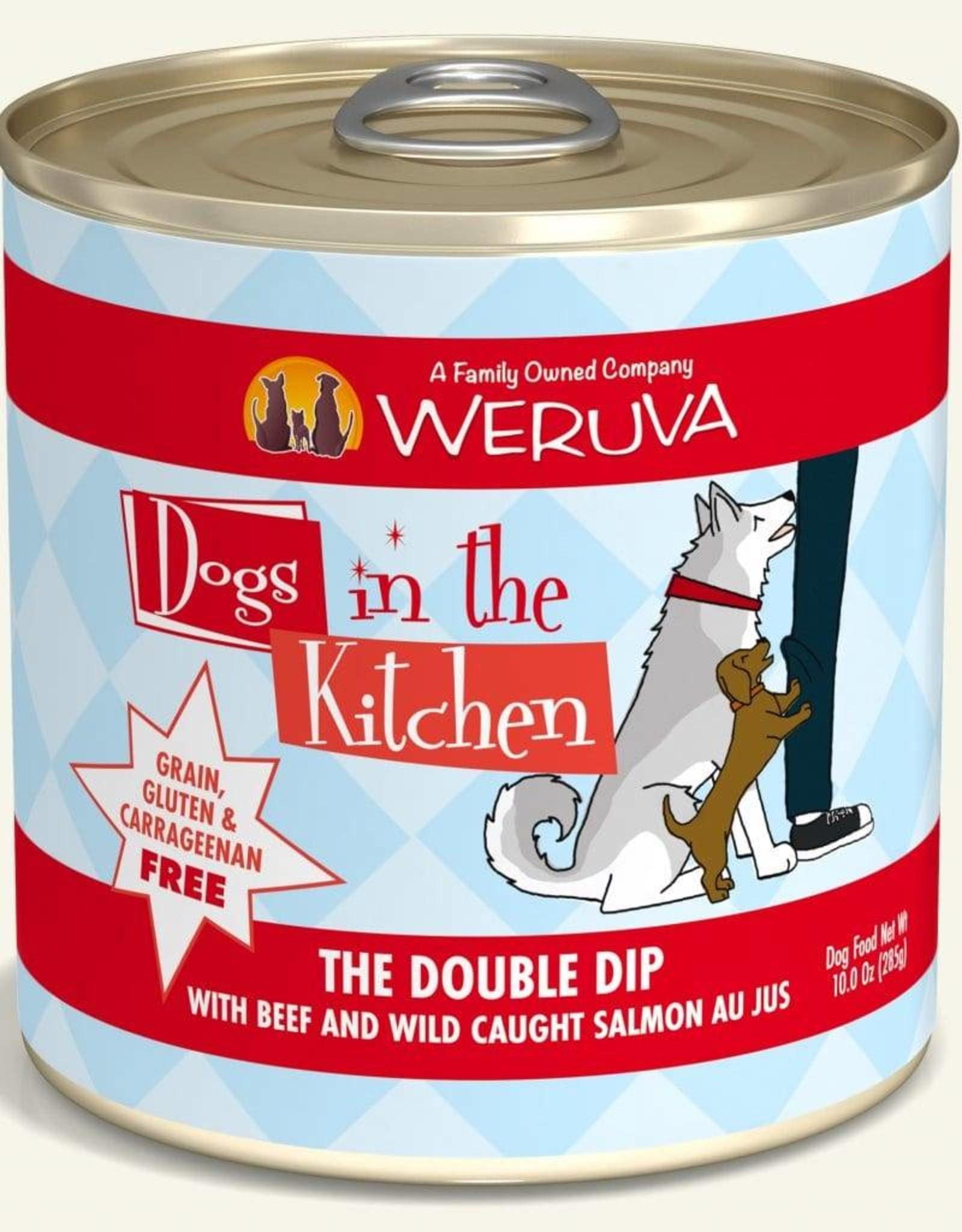 Weruva DITK The Double Dip Dog Food Can, 10 oz.