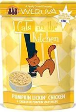Weruva CITK Pumpkin Lickin Chicken Cat Food Pouch, 3 oz.