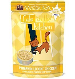 Weruva CITK Pumpkin Lickin Chicken Cat Food Pouch, 3 oz.