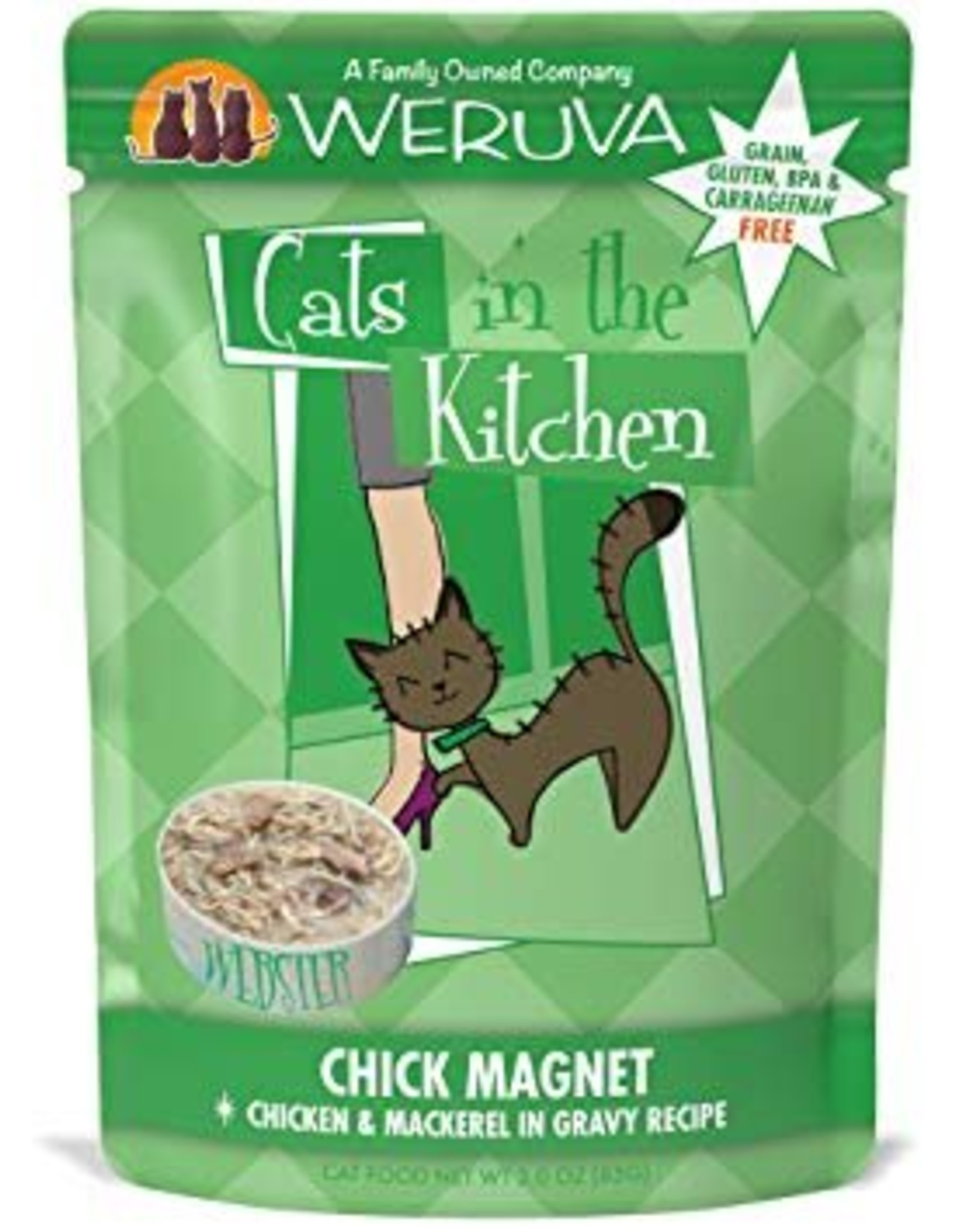 Weruva CITK Chick Magnet Cat Food Pouch, 3 oz.