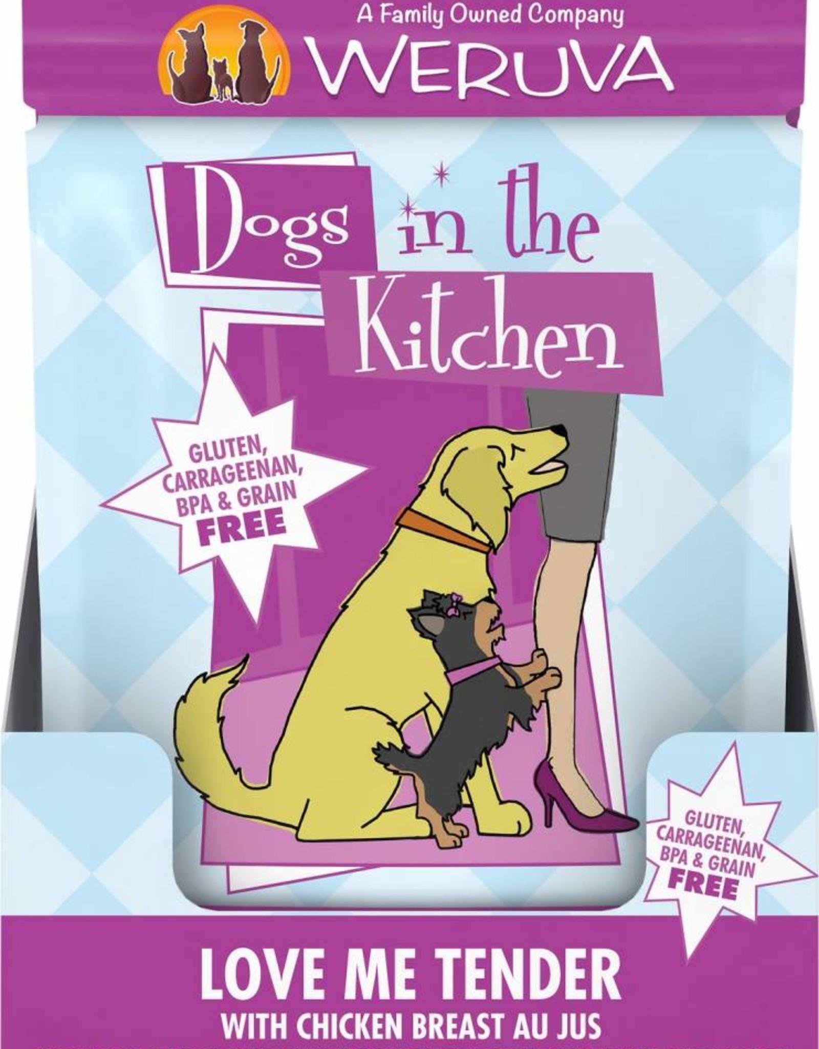 Weruva DITK Love Me Tender Dog Food Pouch, 2.8 oz.