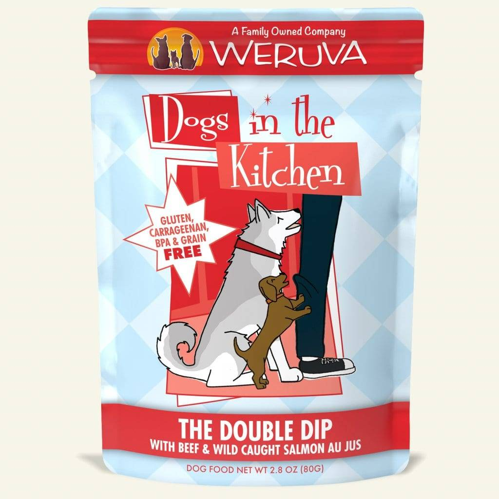 Weruva DITK The Double Dip Dog Food Pouch, 2.8 oz.