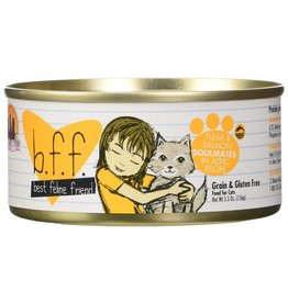 Weruva BFF Tuna & Salmon Soulmates Cat Food Can, 5.5 oz.