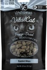 Vital Essentials Rabbit Freeze-Dried Cat Treats, 1.1 oz.