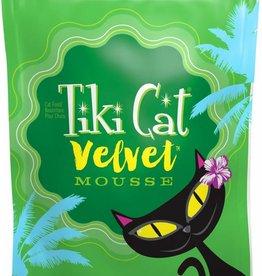 Tiki Velvet Mousse Tuna & Mackerel Grain-Free Cat Food Pouch, 2.8 oz.
