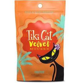 Tiki Velvet Mousse Chicken Grain-Free Cat Food Pouch, 2.8 oz.