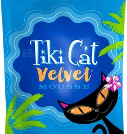 Tiki Velvet Mousse Chicken & Salmon Grain-Free Cat Food Pouch, 2.8 oz.