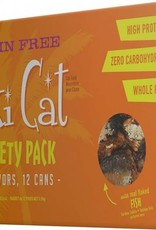 Tiki Grill King Kam Grain-Free Cat Food Can Variety Pack