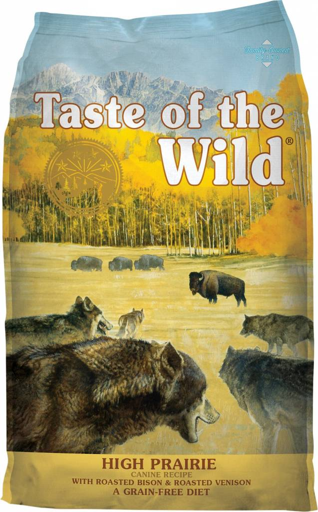 Taste of the Wild High Prairie Grain-Free Dog Food