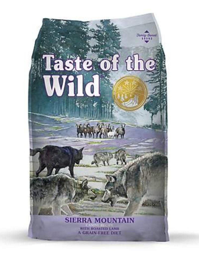 Taste of the Wild Sierra Mountain Grain-Free Dog Food