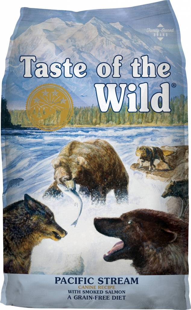 Taste of the Wild Pacific Stream Grain-Free Dog Food