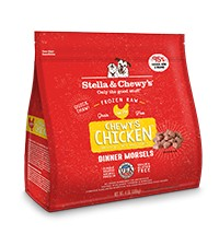 Stella & Chewy Frozen Chicken Morsels Grain-Free Dog Food