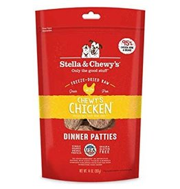 Stella & Chewy Chicken Patties Freeze-Dried Grain-Free Dog Food