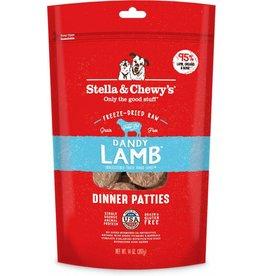 Stella & Chewy Lamb Patties Freeze-Dried Grain-Free Dog Food