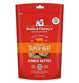 Stella & Chewy Beef Patties Freeze-Dried Grain-Free Dog Food