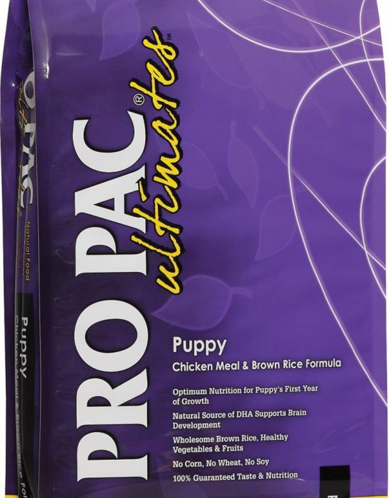 ProPac Ultimates Puppy Chicken Meal & Brown Rice Dry Dog Food