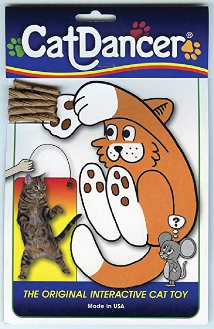 Cat Dancer Interactive Cat Toy