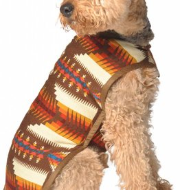 Chilly Dog Brown Southwest Dog Coat