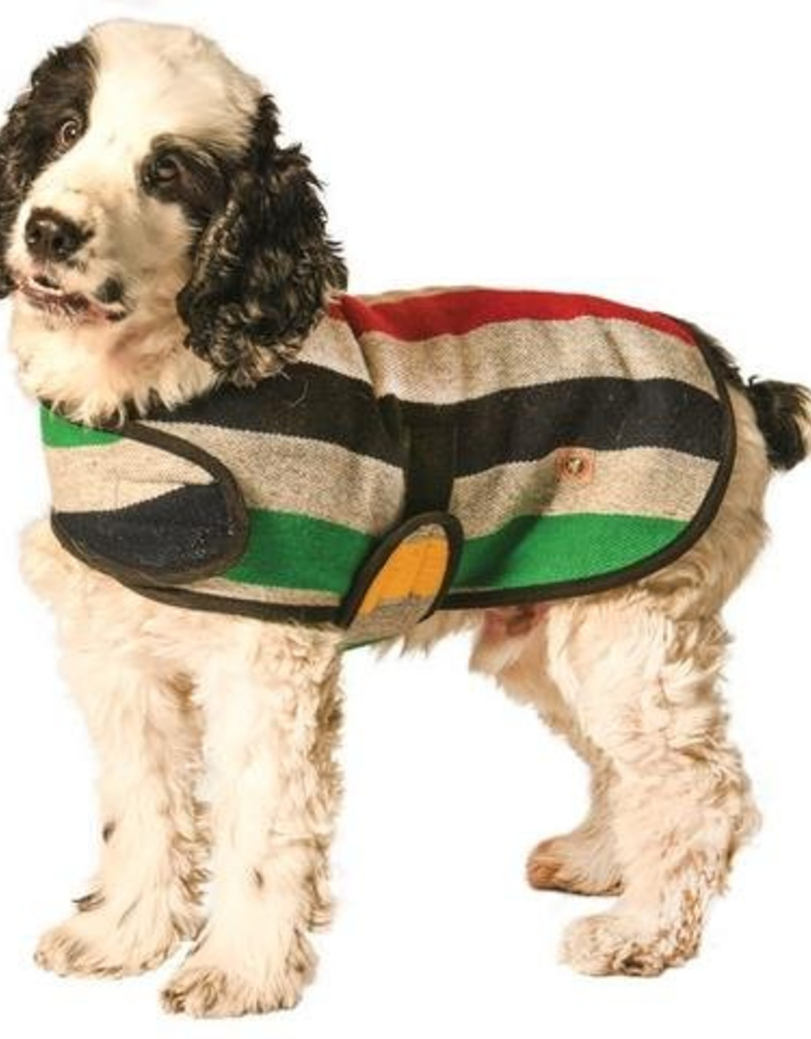 Chilly Dog Grey Striped Dog Coat