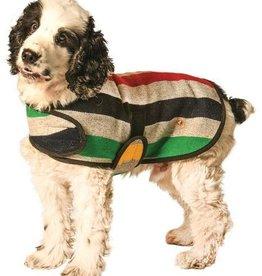 Chilly Dog Grey Striped Dog Coat