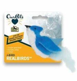 Cosmic/Our Pets Play & Squeak Catnip J Bird Blue