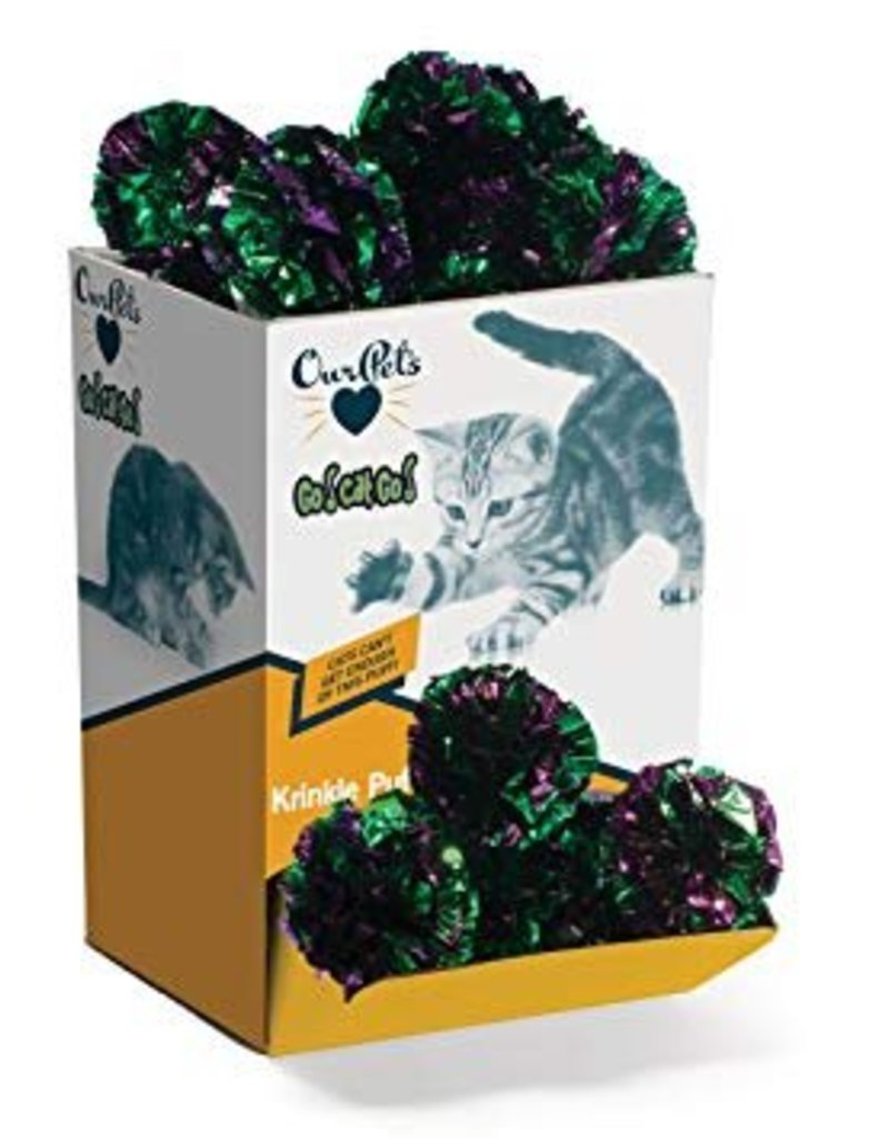 Cosmic/Our Pets Krinkle Puff