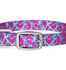 Dublin Dog Shattered Pink Dog Collar