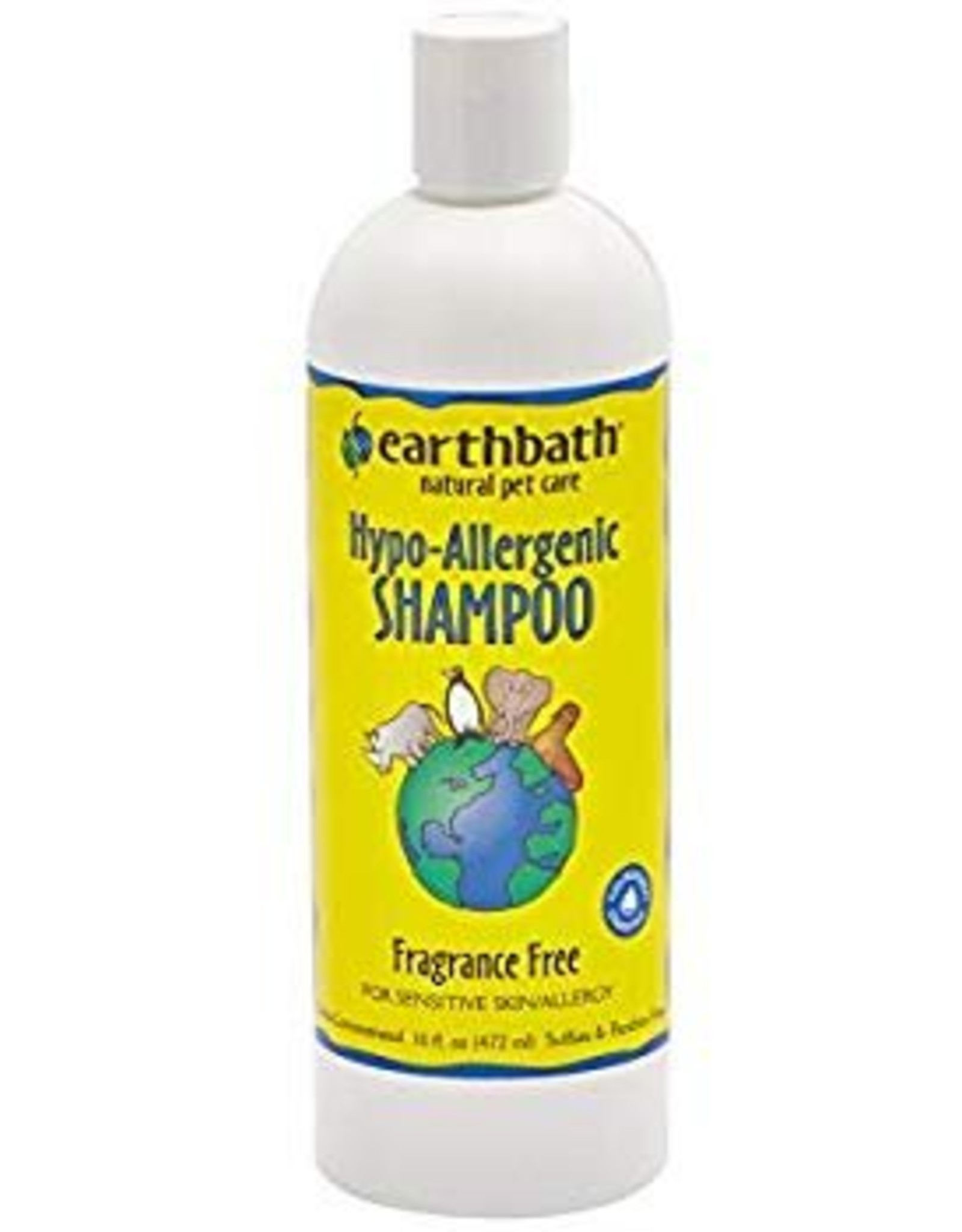 Earthbath Hypo-Allergenic Dog & Cat Shampoo, 16 oz.