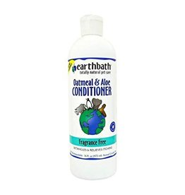 Earthbath Fragrance Free Dog & Cat Conditioner, 16 oz.