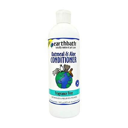 Earthbath Fragrance Free Dog & Cat Conditioner, 16 oz.