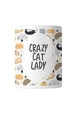 House of Wonderland Crazy Cat Lady Mug