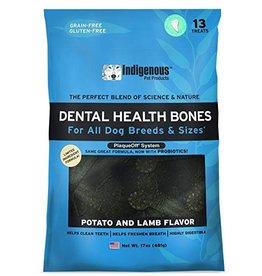 Indigenous Pet Products Dental Health Bones Lamb & Potato Flavor