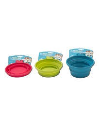 Messy Mutts Collapsible Travel Bowl