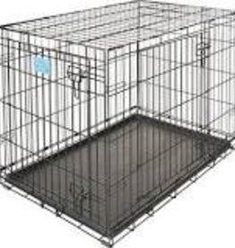 Midwest Pet Products Trainer Double Door Dog Crate