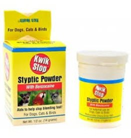 Miracle Care Kwik Stop Styptic Powder .5 oz.