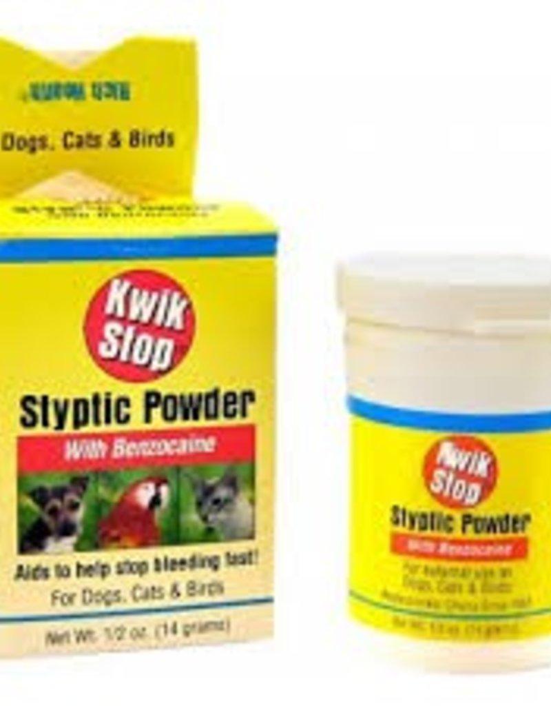 Miracle Care Kwik Stop Styptic Powder .5 oz.