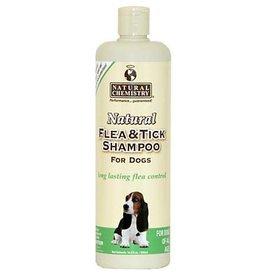 Natural Chemistry Dog Flea & Tick Shampoo, 16 oz.