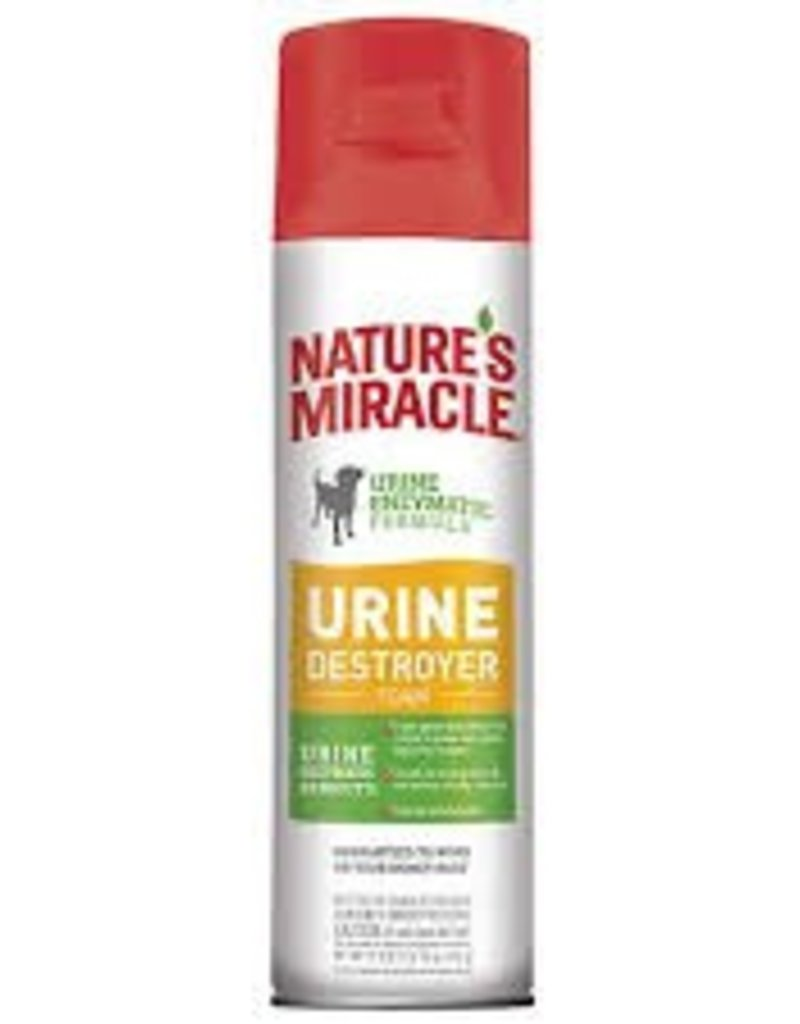 Natures Miracle Dog Urine Destroyer Foam, 17.5 oz.