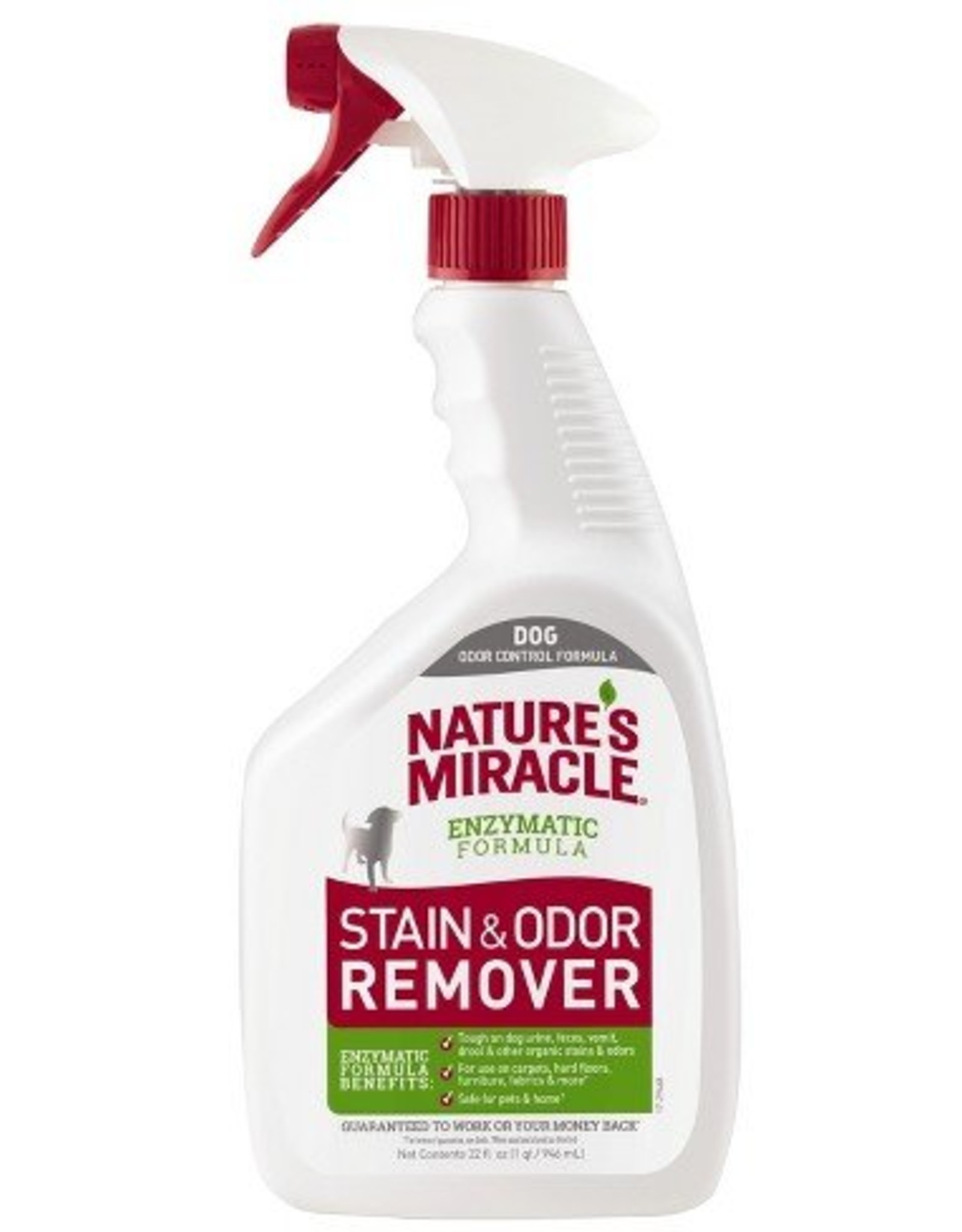 Natures Miracle Oxy Stain & Odor Remover Enzymatic Formula, 32 oz.