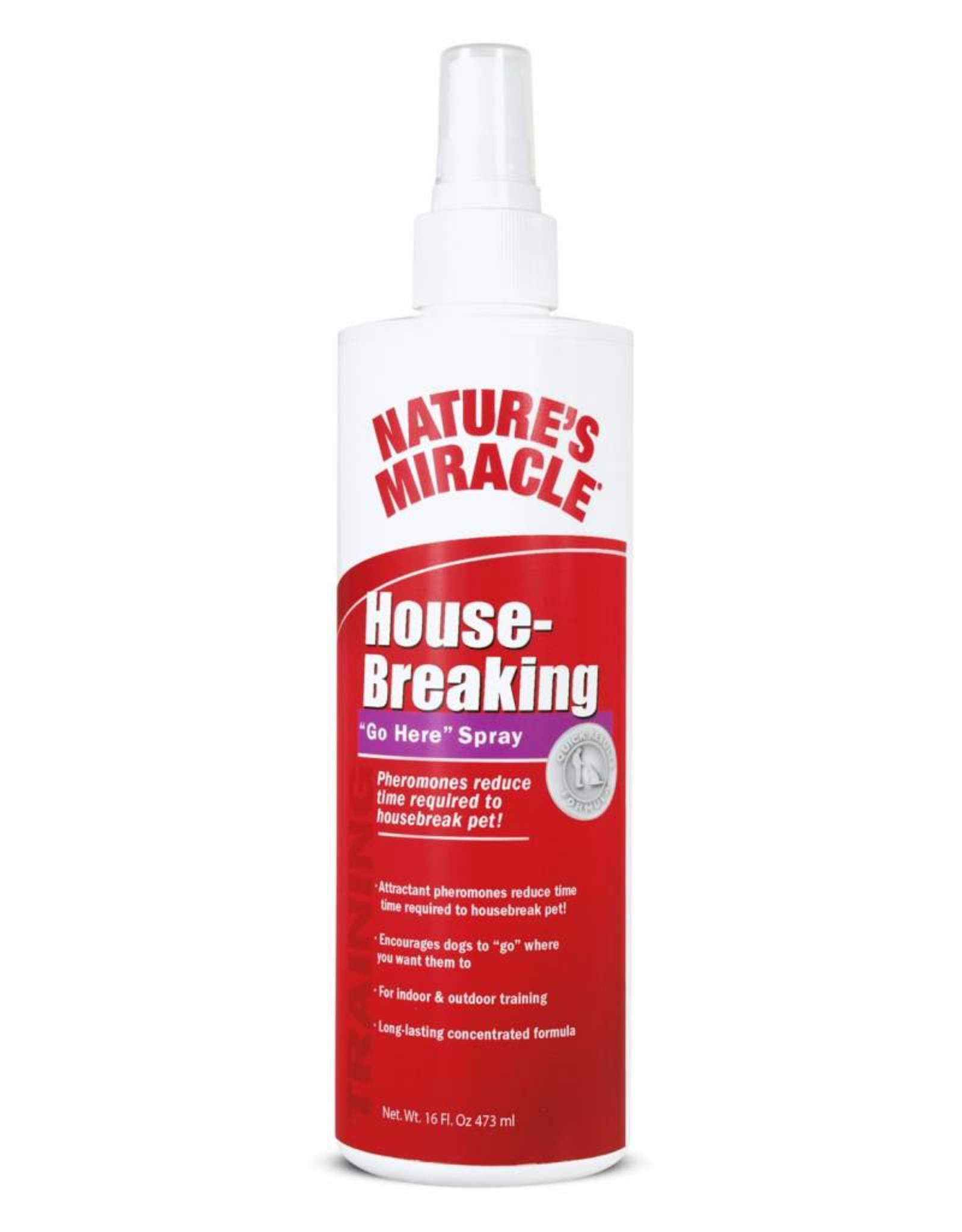 """Natures Miracle House-Breaking """"Go Here"""" Spray, 16 oz."""